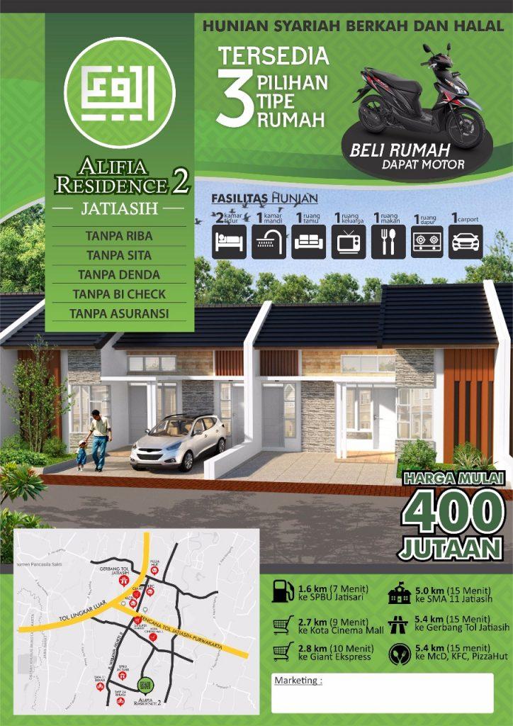 alifia residence 2 jatiasih