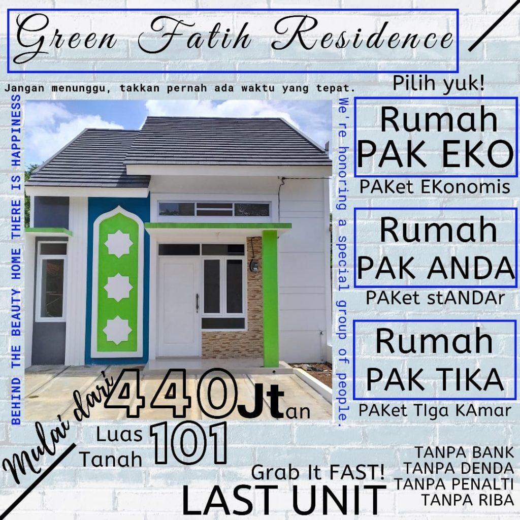 Green Fatih Residence Depok