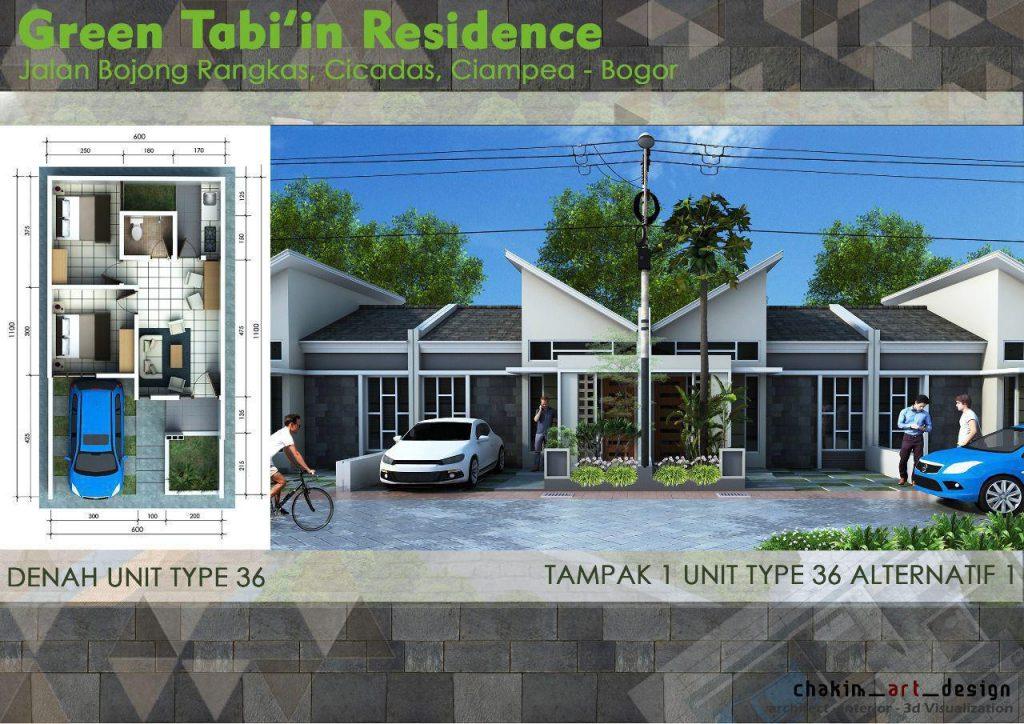 green tabiin residence bogor